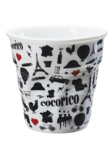 gobelet cappuccino revol 18 cl blanc i love france