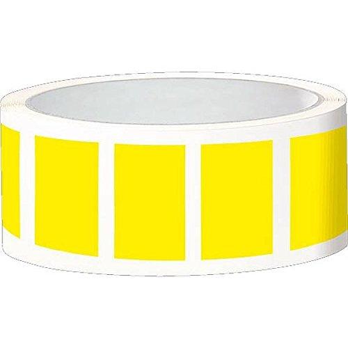 LEMAX® Etikett, eckig, beschriftbar, gelb, Folie, selbstklebend, 50x25mm, 100/Rolle