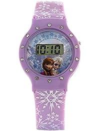 Disney Digital Multi-Colour Dial Girl's Watch - DW100480
