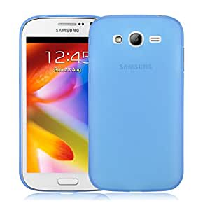 Snoogg Samsung Galaxy Star Pro 7262 AirIce Series Super Thin Soft TPU silicon Cover in Blue