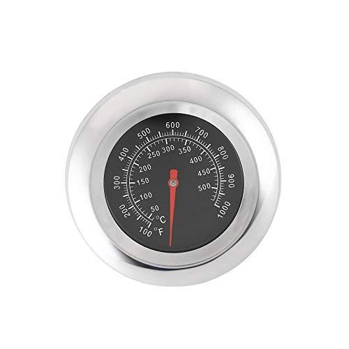 Edelstahl BBQ Barbecue Smoker Grill Thermometer Temperaturanzeige