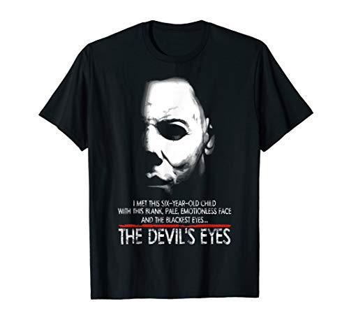 Die Augen des Teufels T-Shirt (T-shirt Michael Myers)