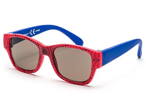 Sonnenbrille Little Kids JUNGE | 8 monate bis 2 Jahre | sehr komfortabel und sicher | 100{f5fbd1ad49f78fc68d76fdf406b05d9db32acc346deaa9eb86caa40106f07db6} UV-Schutz und flexible Gummibeine. | ideales Geschenk für Kinder KI30509