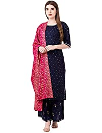 Habiliments Women's Rayon Salwar Suit