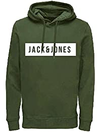 Jack   Jones - Jcobak Hood - Sweat-Shirt à Capuche - Manches longues - d812bf0f868b