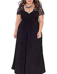 42c5dfe795b women's sexy lace formal evening dresses plus size