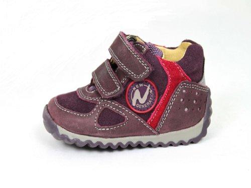 Naturino Scarpe Scarpe bambino scarpe Brogue Izo, rosso (Red - Bordeaux Red), 5.5 UK