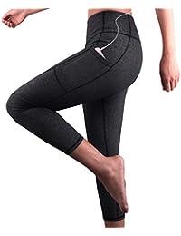Amazon.fr   Gris - Leggings de sport   Sportswear   Vêtements a31db0f0dd4