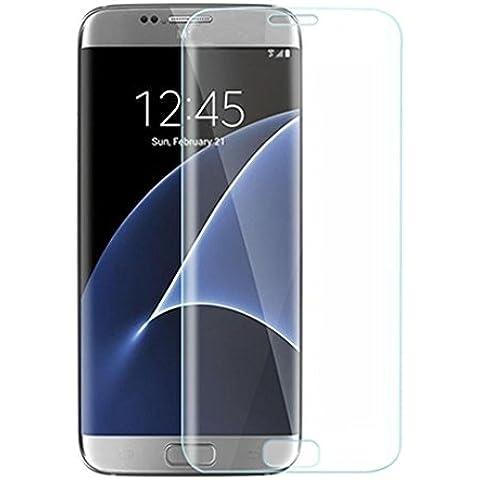 Bester Samsung Galaxy S7 Edge 0.26mm 9H dureza Cobertura completa vidrio templado Protector claro de la pantalla para el Samsung Galaxy S7 Edge (transparente)