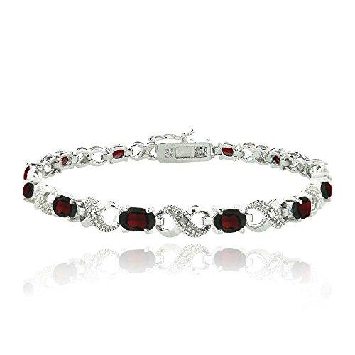 silver-tone-66ct-tgw-garnet-diamond-accent-infinity-bracelet