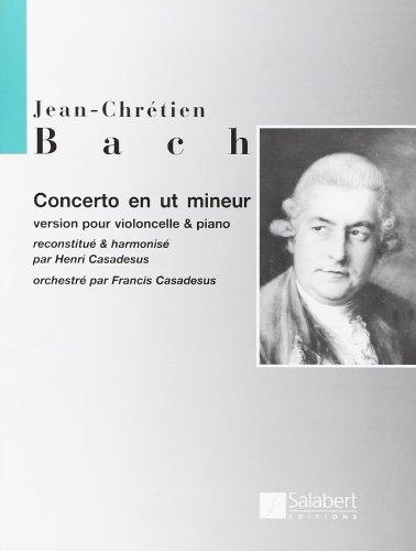 Concerto in C-Moll Violoncelle par Johann Christian Bac