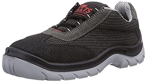 Mts Sicherheitsschuhe Airmax S1 7805, Unisex Adults' Safety Shoes, Grey (anthrazit/schwarz), 8 UK