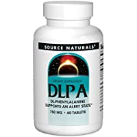 Source Naturals, DL-Phenylalanin (DLPA), 750mg, 60 Tabletten preisvergleich bei billige-tabletten.eu