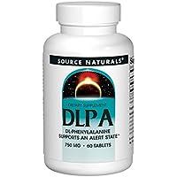 Source Naturals, DL-Phenylalanin (DLPA), 750mg, 60 Tabletten preisvergleich bei fajdalomcsillapitas.eu
