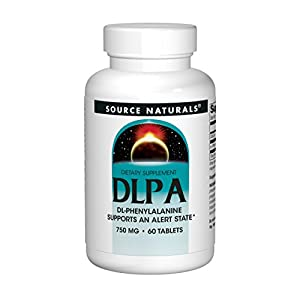 Source Naturals, DL-Phenylalanin (DLPA), 750mg, 60 Tabletten