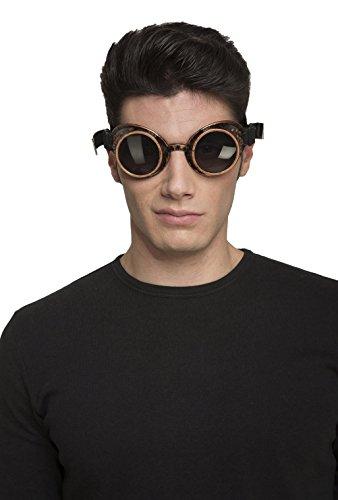 viving Kostüme viving costumes204857Steampunk Brille (Einheitsgröße)