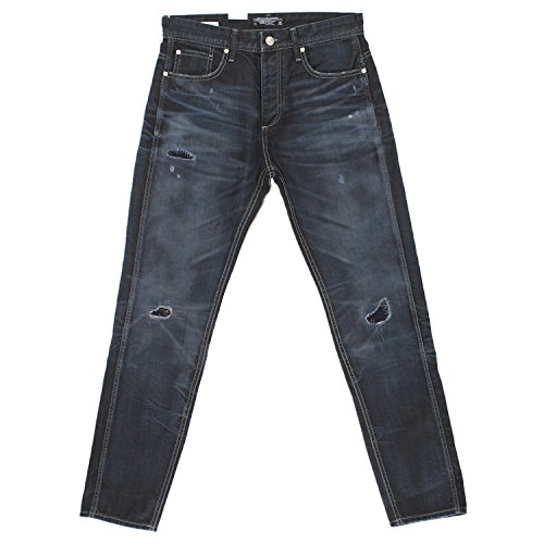 Jack & Jones, Erik Original, Herren Jeans Hose, Denim, darkblue vintage, W 30 L 34 [17952]