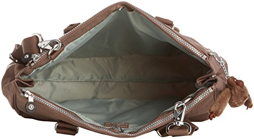 Kipling - Halia - Sac bandoulière- Femme Marron (Monkey Brown)