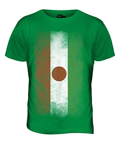 CandyMix Niger Verblichen Flagge Herren T Shirt Grün