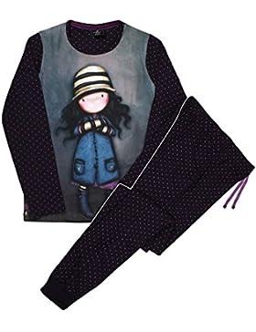 Santoro Gorjuss Set di pigiama Toadstools (grigio)