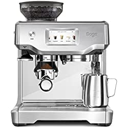 Sage Appliances SES880 Espresso-Maschine The Barista Touch, Gebürstetes Edelstahl