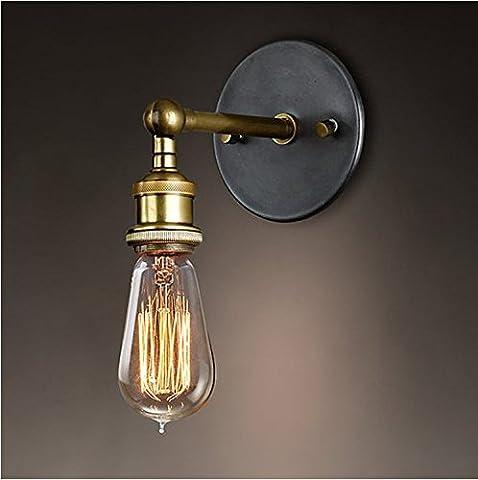 Splink Rétro Luminaire Applique Murale Style Industriel Réglable Finition de