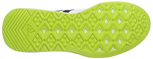 adidas Essential Star .2, Chaussures de Running Compétition Homme, Bleu, 42 EU Blanc (Ftwr White/Core Black/Semi Solar Slime)