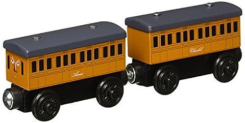 Thomas & Friends Wooden Railway Annie et Clarabel Ensemble de moteur
