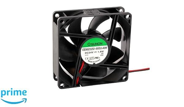 Fan Ventilatore 24V 0,8W 40x40x20mm 13m/³//h 21dBA ; Sunon EB40202S2-999