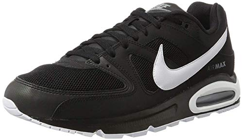 buy popular 89529 930ea Nike - Nike Air Max Command Scarpe Sportive Uomo Bianche - Nero, 40,5