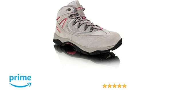 Ladies Hi-Tec Waterproof Lace Up Walking Boot Knysna