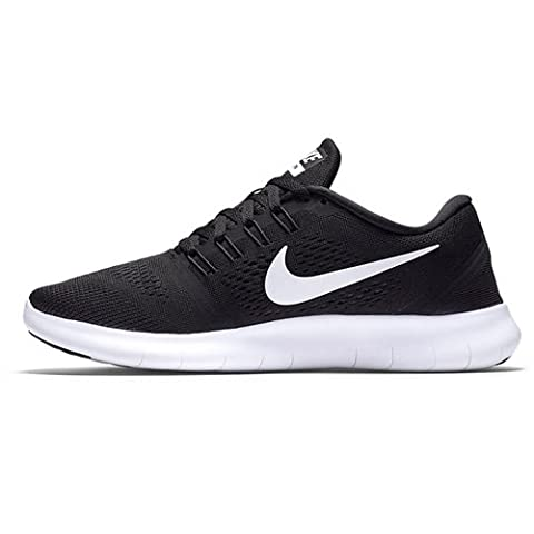 Nike Damen Free RN Laufschuhe, Schwarz (Schwarz/Weiß/Anthrazit), 39 EU