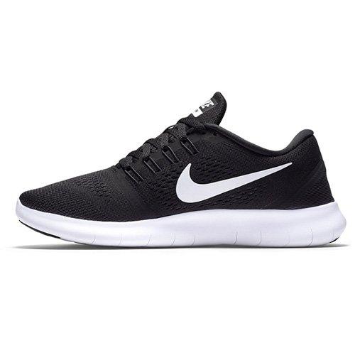 Nike Women Wmns Free Rn Running Shoes, Black (Black/Anthracite/White), 6.5 UK 40 1/2 EU