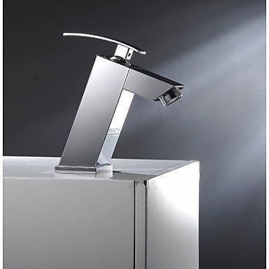 YI KUI Waschtischarmaturen Aquarium Wasserhahn Einhebel Bad Waschbecken Armaturen Schiff Toilette Wasserhahn Chrom