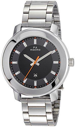 Maxima Attivo Analog White Dial Men's Watch - (35543CMGI)