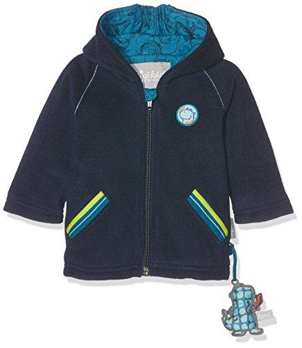 Sigikid Baby-Jungen Fleece Jacke, Blau (Mood Indigo 275), 86