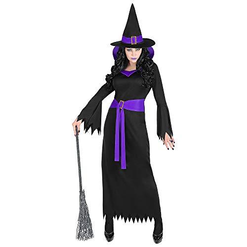 Widmann 70253 Damenkostüm Hexe, Damen, Schwarz/Lila (Böse Kostüme Fee)