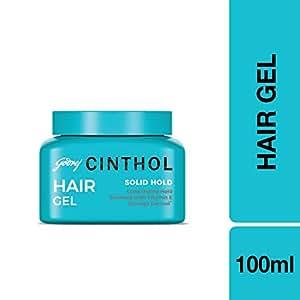 Cinthol Solid Hold Hair Styling Gel, 100ml