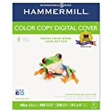 Color Copy Digital Cover Stock 60 lbs. 81/2 x 11 White 250 Sheets