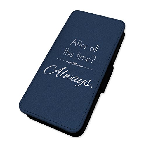 After all this Time – always – Custodia ad aletta in pelle cover Apple iPhone 6/6S