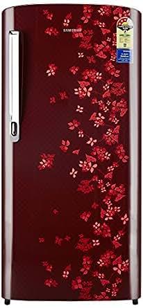 Samsung 192 L 3 Star Direct Cool  Refrigerator (RR19M1723RY, Sanganeri  Red)
