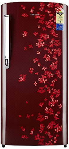 Samsung 192 L 3 Star Direct Cool Refrigerator (RR19M1723RY, Sanganeri Red)