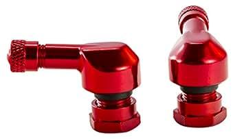 Puig 5591R Soupape Jeu, 11mm Dia vis, Rouge