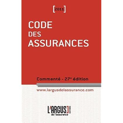 Code des assurances 2011 commenté