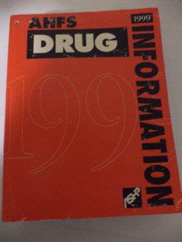 Ahfs 99 Drug Information (Serial)