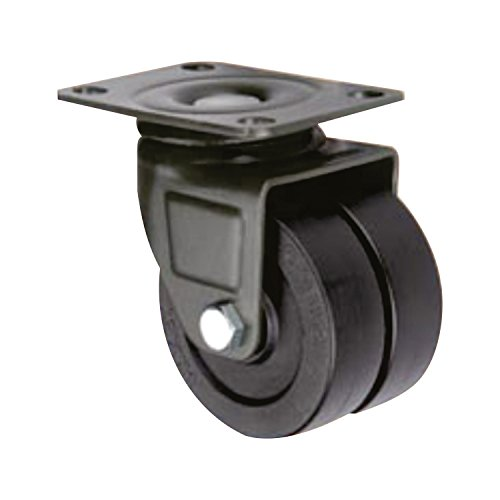 SUPO 40mm Medium Duty Derlin Bush Bearing Nylon Swivel Plate Caster Wheel  available at amazon for Rs.340