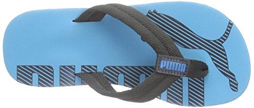 Puma Epic Flip V2 Jr Unisex-Kinder Zehentrenner Blau (atomic blue-asphalt 01)