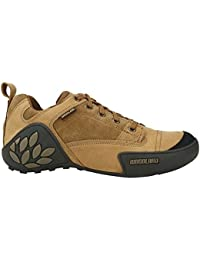 Woodland Men's Camel Leather Shoes (43)