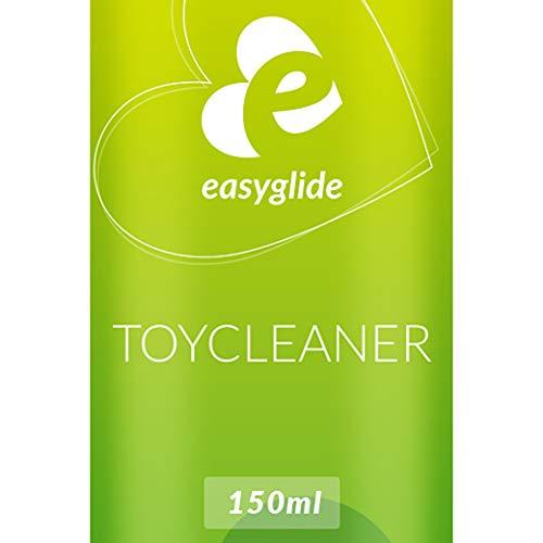 (EasyGlide Reinigungsspray (150 ml) Sexspielzeug Reiniger & Reinigungsmittel, zur hygienischen Reinigung von Sex Toys, geruchsneutralisierend, Toy Cleaner ohne Alkohol & Biozide)