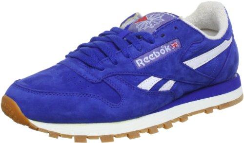 Reebok CL LTHR VINTAGE J97407 Herren Sneaker Blau (VIN/REEBOK ROYAL/WHITE/RED)